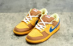 纯原公司级Nike Dunk Low Newcastle Brown Ale 黄蓝色货号:313170-741