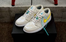 东莞原厂Air Jordan 1 Low Light Orewood Brown香冰棕榈树货号:CK3022107