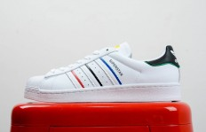 真标裁片Adidas Superstar Star FY2325 贝壳头