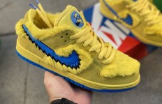 纯原Grateful Dead x Nike SB Dunk Low Yellow Bear 联名款货号:CJ5378700