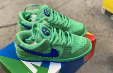 纯原Grateful Dead x Nike SB Dunk Low Green bear蓝绿陈伟霆同款 联名款货号:CJ5378300