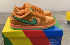 纯原Grateful Dead x Nike SB Dunk Low Orange bear 橙绿跳舞小熊货号:CJ5378800