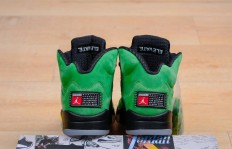 纯原Air Jordan 5 Retro SE Apple Green AJ5 乔5俄勒冈苹果绿 CK6631-307