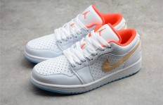 东莞原厂Air Jordan 1 Low SE White SesameAJ1 低帮 白粉 白芝麻 DC9509-100