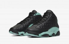 "Air Jordan 13 Retro ""Island Green"" 货号:414571-030发售时间及价格"