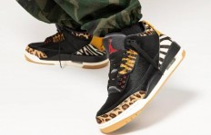 "Air Jordan 3 SE ""Animal Pack"" 上脚图"