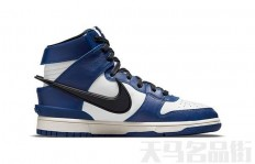 AMBUSH x Nike Dunk High 最新配色Deep Royal Blue
