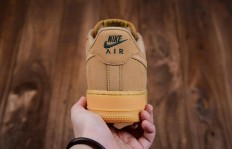 公司级Nike Air Force Low Wheat小麦低帮AA4061200