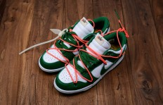 纯原OffWhite x Nike Dunk Low Pine Green 联名扣篮系列货号CT0856100